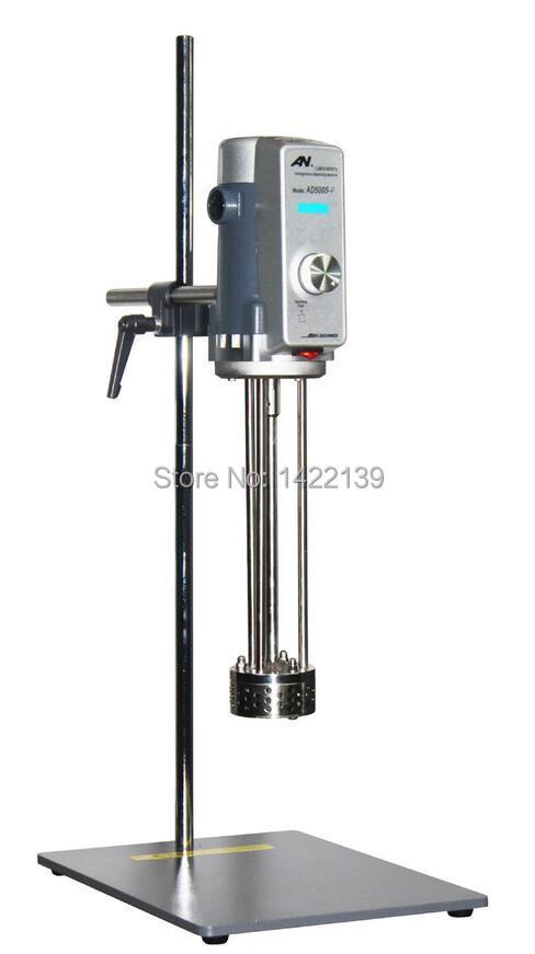 New Lab Equipment Shear Mixer Emulsifying Machine AE500S-P 500W 70G  70mm/40L (300-14000RPM) digital shear emulsification lab mixer lr 10 mixer disperser emulsifying machine 10kg capacity 220v or 110v