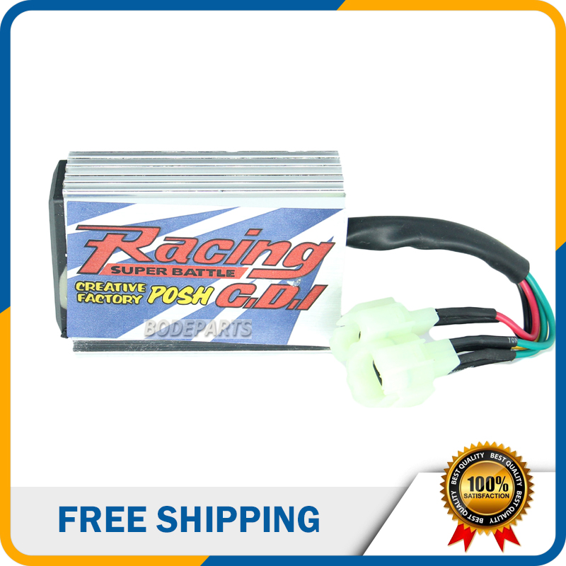 US $14 47 8% OFF|DQ 193 Racing GY6 AC Posh Ignition Coil CDI Box & CDI For  CG125 CG 250 200CC CG250 250CC ATV Dirt bike Motorcycle Engine Parts-in