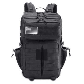 Military Tactical Backpack Bag 45L Men Male Waterproof Army Assault Attack Bagpack Outdoor Men\'s Hiking Camping Large Back Pack