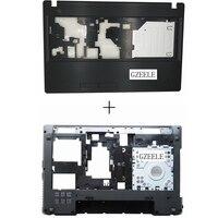NEW FOR Lenovo Lenovo G580 G585 Bottom Cover Palmrest Upper Case With HDMI Port Drawing Bench