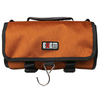 Waterproof Camera Travel Case Bag Organizer Housing Storage For Gopro Hero 3 4 5 Orange Black