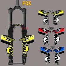 Горячая Распродажа, светоотражающие наклейки на раму для горного велосипеда для лисы, Велосипедная вилка с фиксированной передачей rockshox rock shox