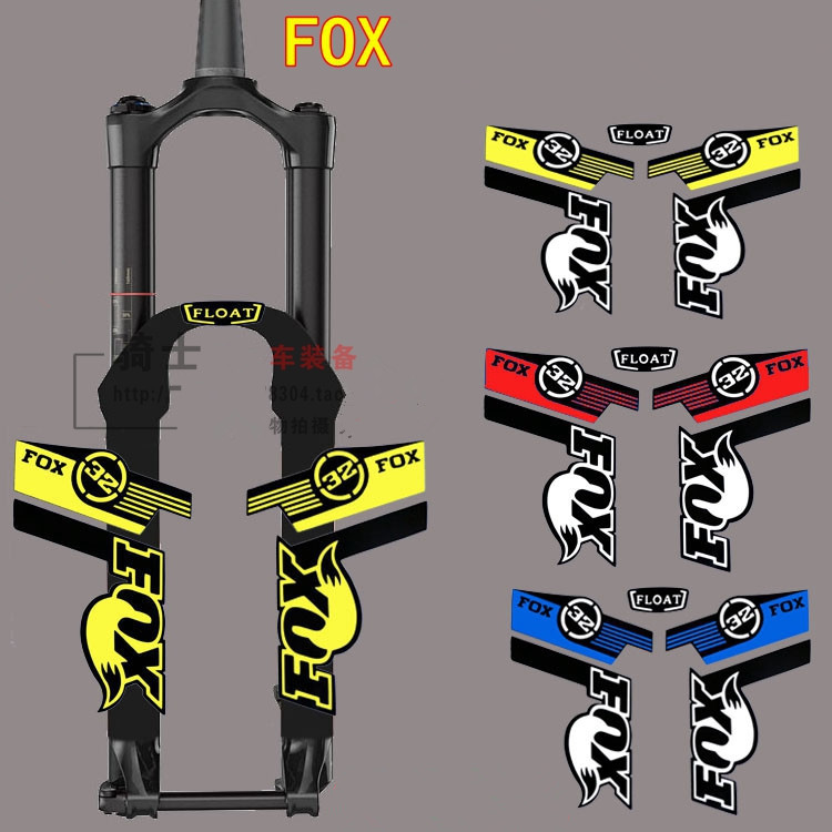 Hot Sale Reflective Mountain Bike Frame Stickers For Fox,fixed Gear Bicycle   Fork  Rockshox Rock Shox