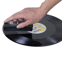 Gramofone registro escova de limpeza para barra acessórios atacado lp registro esfrega cd player ferramentas limpas Escovas de limpeza     -