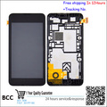 Original para nokia lumia 530 lumia530, rock, m-1018, rm-10 n530 display lcd touch screen digitador assembléia com quadro freeshipping