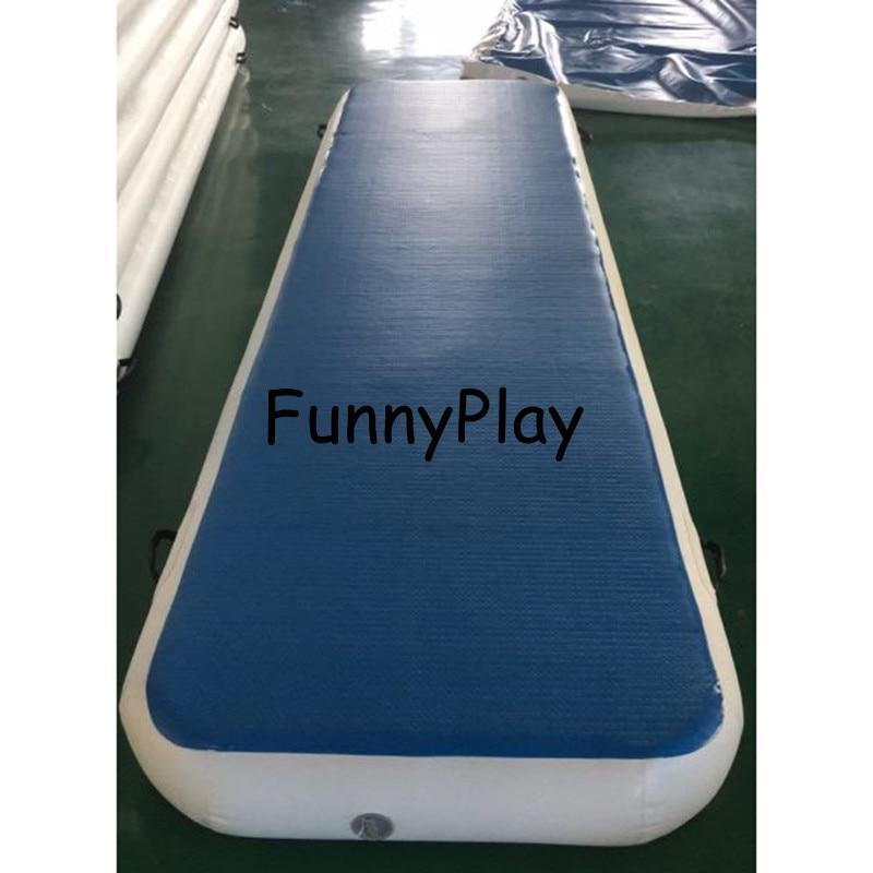 matelas de gymnastique gonflable bon marche piste d air de sol livraison gratuite par fedex