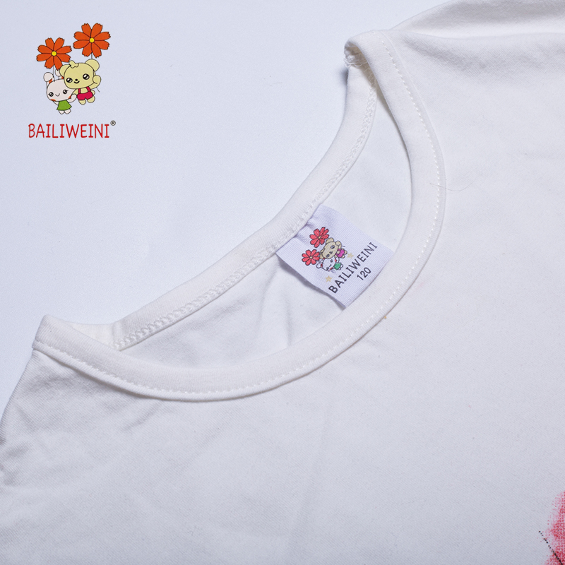 2019BAILIWIENI Summer New Short Sleeve Wide Hem Girls Watermelon Print Set Middle Child Wide Hem Shorts Set in Clothing Sets from Mother Kids