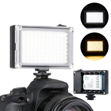 3200K-5500k Mini LED Video Camera Light Dimmable 96 LED Photographic Lighting Lamp for DSLR Canon Nikon Pentax travor 336pcs bi color led video light 3200k 5500k ir for most model of canon nikon sony dslr camera and camcorder