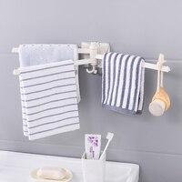 Bathroom towel bar rotating towel rack kitchen wall mounted towel