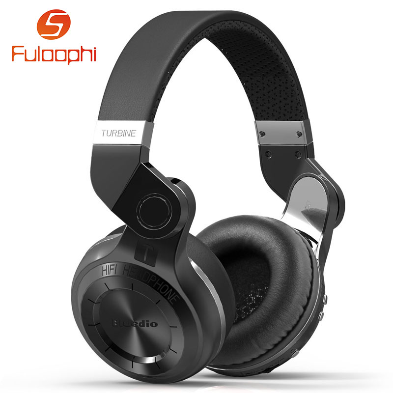 ФОТО Bluedio T2 Wireless Bluetooth Headphones  Headset Foldable Headphones With Mic Powerful Bass Over-ear Headphones For LG iPod MP3
