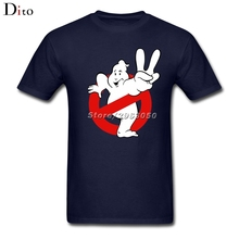Funny Ghostbusters Tees Shirt For Men Top Design Custom Short Sleeve Boyfriend's 3XL Family  T-shirts