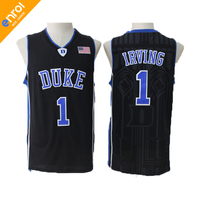 Cheap Kyrie Irving Basketball Jerseys 1 Duke University Blue Devils High Quality Throwback Stitched Commemorative Retro
