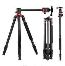 Zomei m8 profissional braço de extensão monopé tripé conversão monopé para vídeo