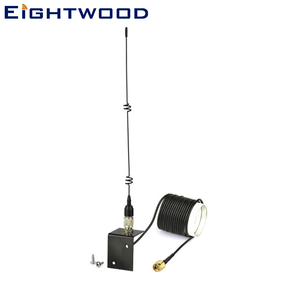 Eightwood SPYPOINT LINK-W Cellular Trail Camera Outdoor Enhanced MMS Antenna RP-SMA Female Connector 500 cm Cable