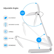 Dimmable Foldable Ultra-Thin Desk LED Lamp