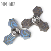 DICORIA Titanium Finger Hand Spinner Torqbar Tools Sets Multi Function Hang Buckle Key Chain Outdoor Gear