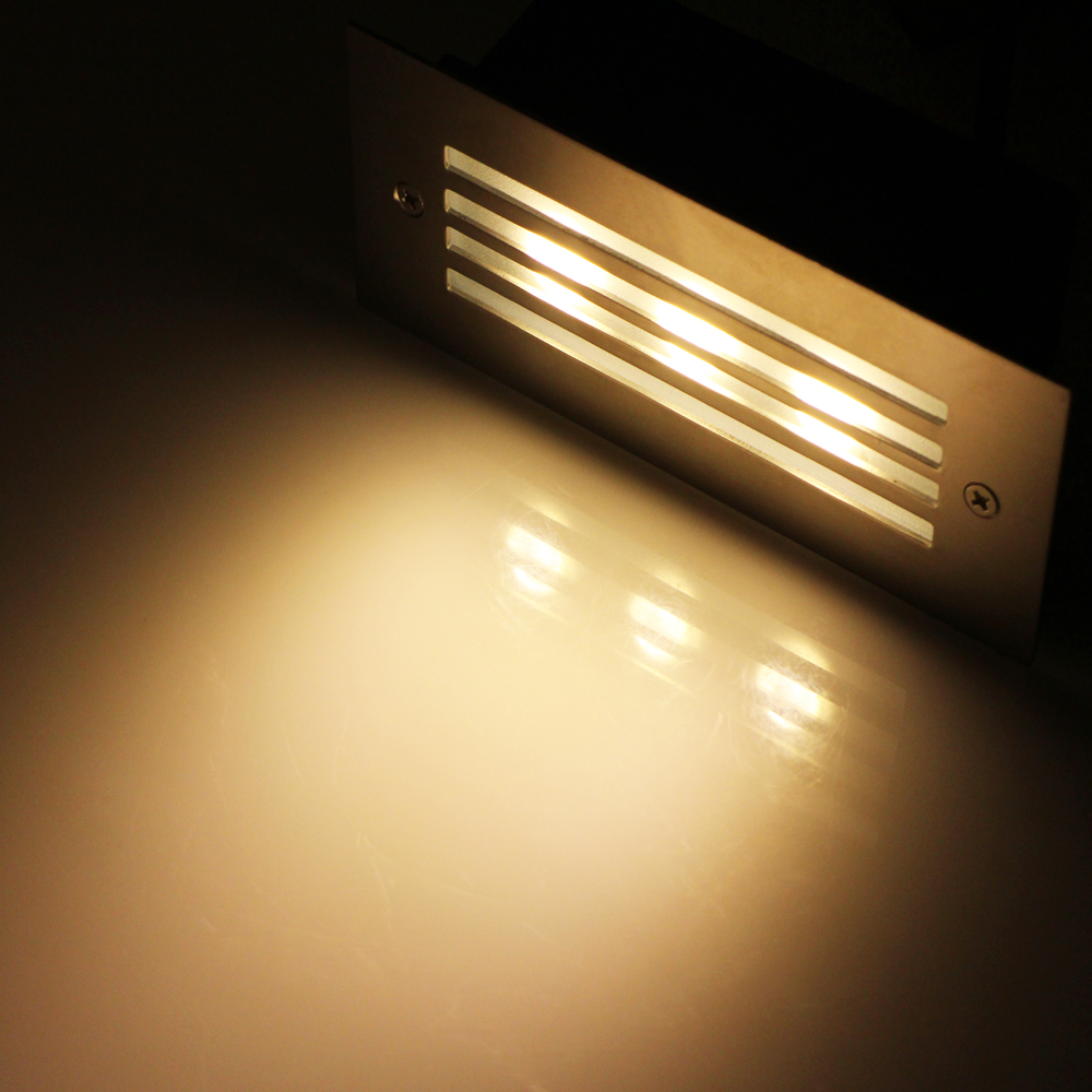 Warm White Ac 85 265v Led Wall Lamp Recessed Corner Lamps