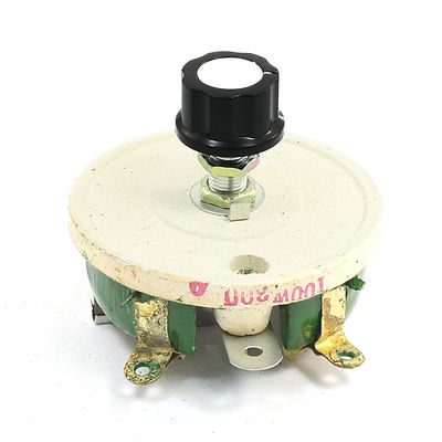 Wirewound Ceramic Potentiometer Variable Rheostat Resistor 100W 300 Ohm variable resistor wire wound rheostat 50w 20 ohm 20ohm
