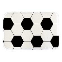 Door Mat With American Football Printed Sport Ball Decor Doormat Rug font b Indoor b font