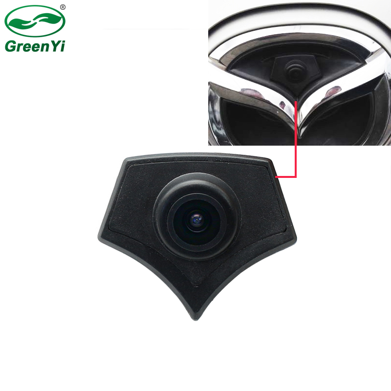 CCD Car Front Logo Camera For Mazda 2 3 5 6 CX-7 CX-9 CX-5 Mazda Front View Reversing Backup Camera Parking Assistance