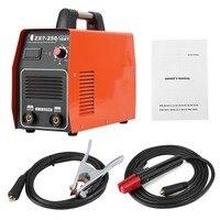 ZX7 250 220 В 380 В сварочный аппарат двойного Напряжение Инвертор постоянного тока Электрический паяльная станция с IGBT электрода аксессуар