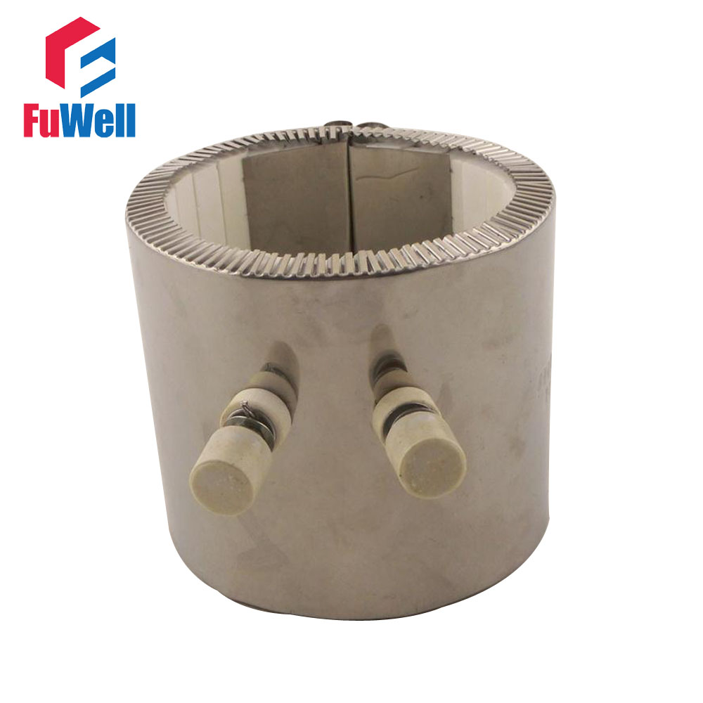 220V 1200W Ceramic Band Heater Heating Element 90mmx90mm