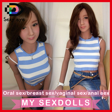 Real 158cm oral lifelike silicone dolls love artificial full body size sex metal skeleton breast simulation head