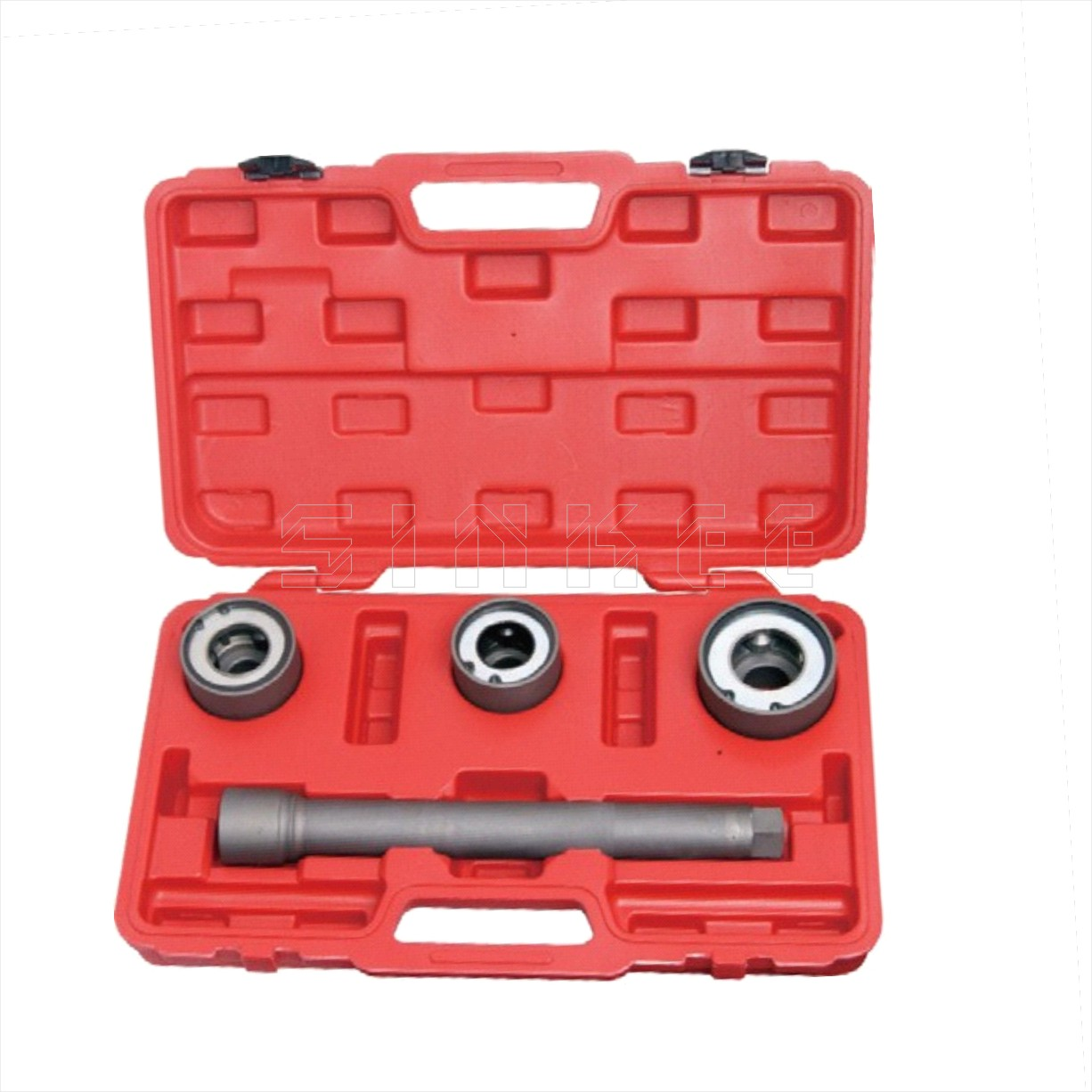 4pc Track Rod End Remover Installer Tool Kit Steering Rack Tie Rod End Axial Joint 30 35mm 35 40mm 40 45mm SK1048