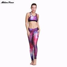 New Polyester Women Yoga Sets Fitness Clothing Sport Suit For Female Women's Gym Panties Pilates Running Slim Leggings+Bra