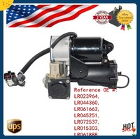 AP03 Hitachi Type Air Compressor Pump+Relay For Land Rover Range Rover Sport Discovery 3 LR023964 LR045251 LR072537
