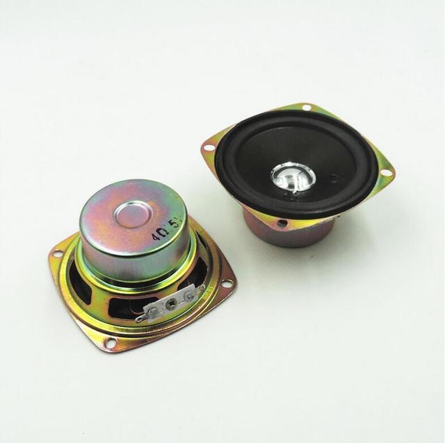 US $7 17 12% OFF|2pcs Full Range Speaker DIY HIFI Loudspeaker for Car  Stereo Home Theater 5 W 4 ohm 3 inch Audio Speakers gamut antimagnetic-in