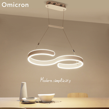 Omicron Modern LED Pendant Lights White Originality Bright LED Lamps For Living Room Bedroom Study Room Home Decor Lights