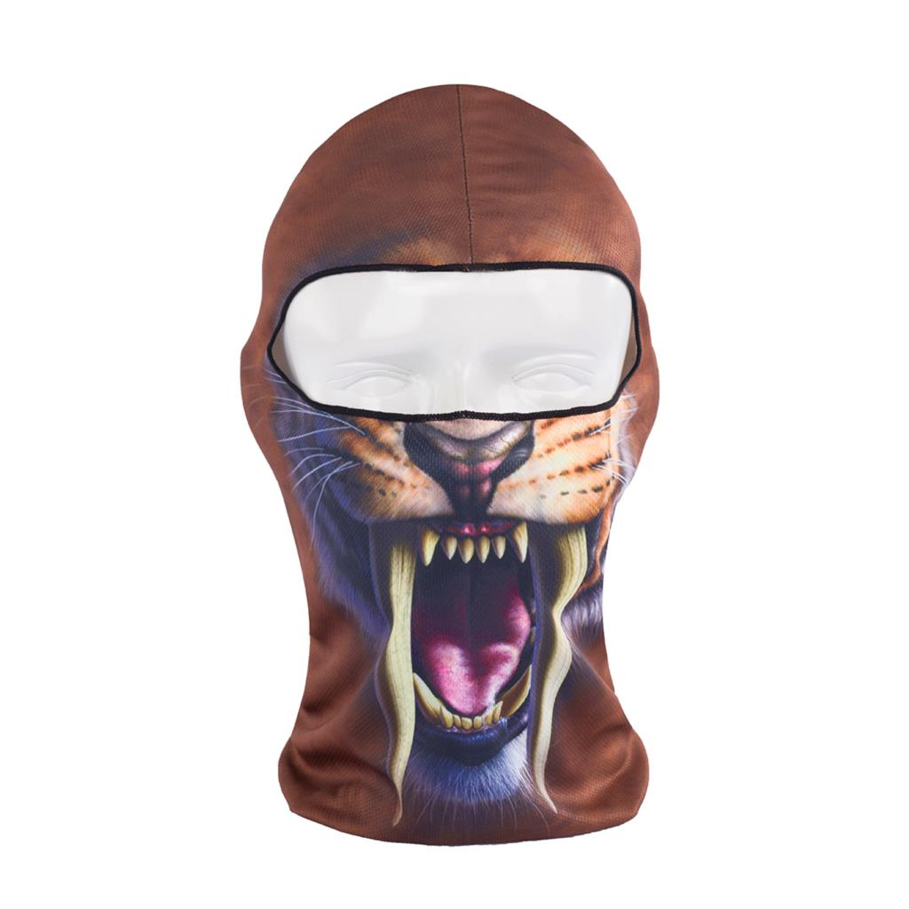 2016 Hot Sale 3d Animal Active Outdoor Sports Bicycle Cycling Motorcycle Masks Ski Hood Hat Balaclava Full Face Mask Bb02 women beanie new hot sale 3d zebra animal hood hat balaclava full face mask outdoor sports bicycle cycling ski motorcycle masks