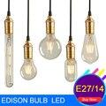 Antique Retro Vintage Led Edison Bulb E27 Bulb E14 Incandescent Bulbs Filament Led Lamp Vintage Edison Light Bulb Led