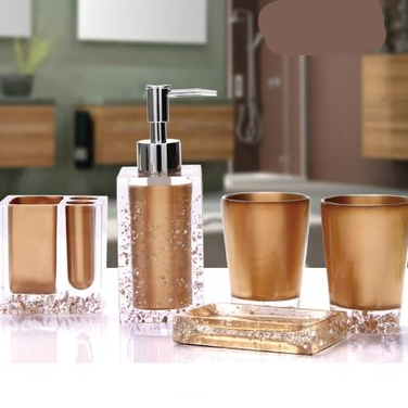 Luxury Bathroom Sets Bathroom Accessories Bathroom Toiletries Bathroom  Products Soap Bottle Soap Dish Toothbrush Holder Cup 919 In Bathroom  Accessories Sets ...