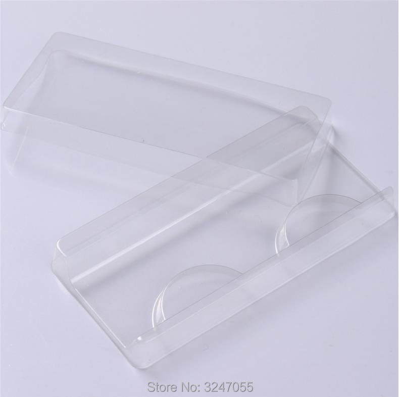 100pcs/lot Empty Clear False Eyelashes Packing Box, Eye Makeup Tool,DIY Fake Eyelashes Blister Package,Storage Box for Eyelashes-in Refillable Bottles from Beauty & Health    1