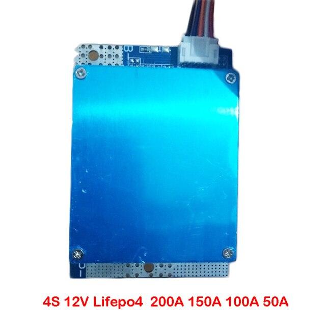 4S 12V Lifepo4 Lithium Eisen Phosphat Batterie Schutz Bord 200A 150A 100A 50A Hohe Strom 3,2 V Pack BMS PCM mit Balance