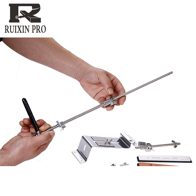 Professional Steel Knife Sharpener Fixed Angle with stones