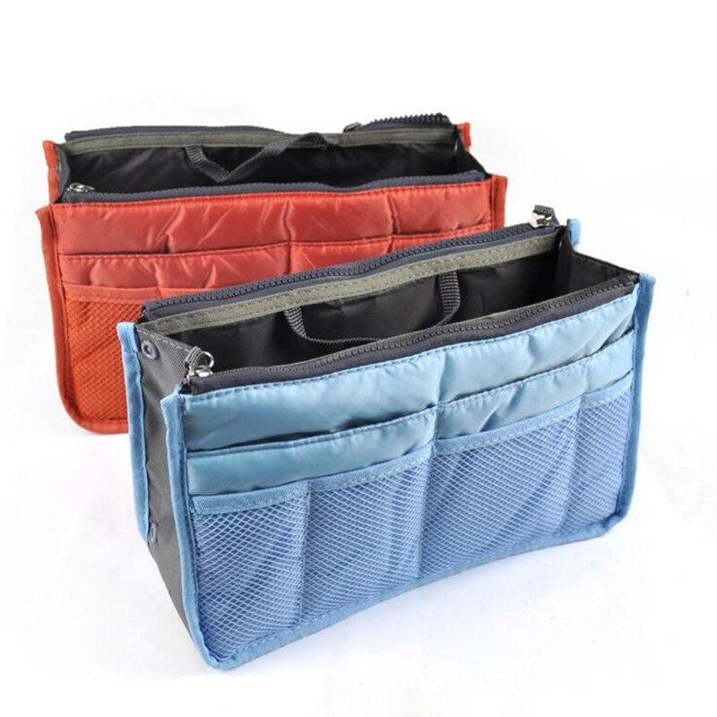 New Zipper Makeup Bag Organizer Insert Bag Travel Neceseries Cosmetic Bag Small Handbag Cheap Female Tote 30