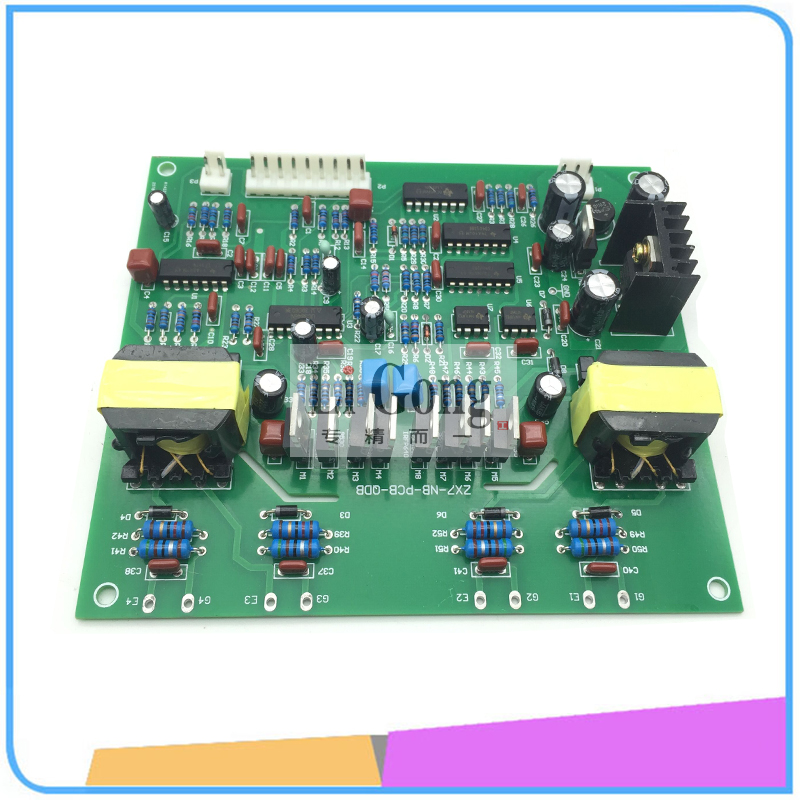 лучшая цена The Sun Shall Drive Board Control Panel Inverter NBC ZX7 IGBT Driver Board Circuit Board Welding Machine