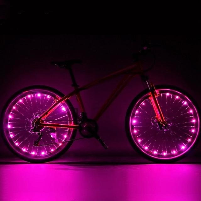 c25c2ad84 New Design 20 LED Bicycle Lights Mountain Bike Light Cycling Spoke Wheel  Lamp Bike Accessories Luces Led Bicicleta