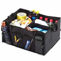 Coffre de voiture pliable organisateur boîte de rangement automatique pour vw passat b5 renault duster mercedes w204 Mercedes hyundai i30 I20 megane 2