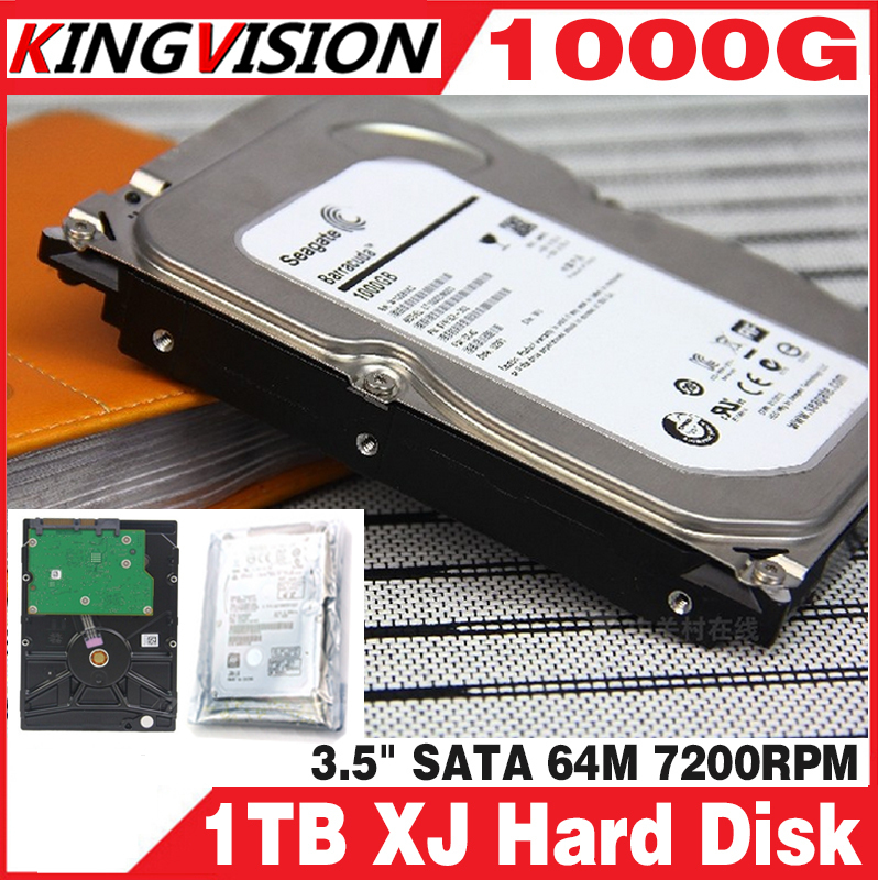 CCTV accessories 3.5 inch 1000G 1TB 5700RPM SATA Professional Surveillance Hard Disk drive internal HDD for DVR security system 1tb 2tb 3tb 4tb optional 3 5 inch sata interface hard disk drive for cctv surveillance system security dvr nvr kit video record
