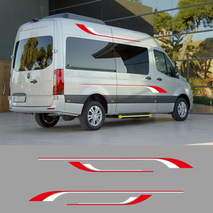 Image 3 - 1 คู่ 2 ด้าน Motorhome ลาย Camper Van กราฟิกสติ๊กเกอร์สติ๊กเกอร์สำหรับ Mercedes Sprinter ไวนิล