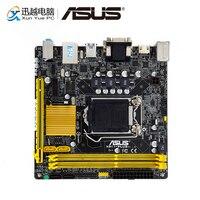 Asus H81I PLUS Desktop Motherboard H81 LGA 1150 For Core i7 i5 i3 DDR3 16G SATA3 USB3.0 HDMI Mini ITX Original Used Mainboard