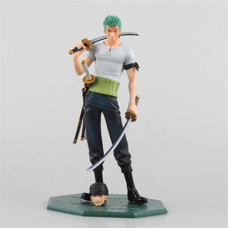 Anime One Piece POP Roronoa Zoro 10th Anniversary Juguetes PVC Action Figure Brinquedos Model Kids Toys 21CM one piece figura japanese anime figure sabo pop one piece action figure pvc figurine bonecos do one piece figura toys juguetes