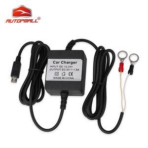 Image 1 - Chargeur de voiture filaire cc 12 24V, pour TKSTAR TK905, Tracker GPS, localisateur GSM, dispositif de suivi en temps réel