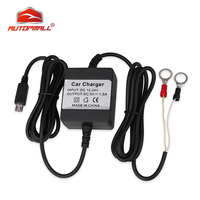 Hard-wired carregador de carro dc 12-24 v para tkstar tk905 gps tracker gsm localizador em tempo real dispositivo de rastreamento