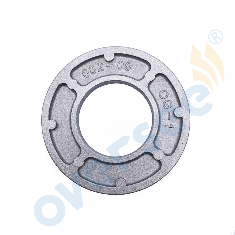 OVERSEE Seal Ladyrinth 1 Aluminium fit Yamaha Outboard Engine Motor 9.9HP 15HP 2 st 682-11515-00 02 03