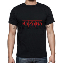 Periodic Table's Bazinga element men's shirt